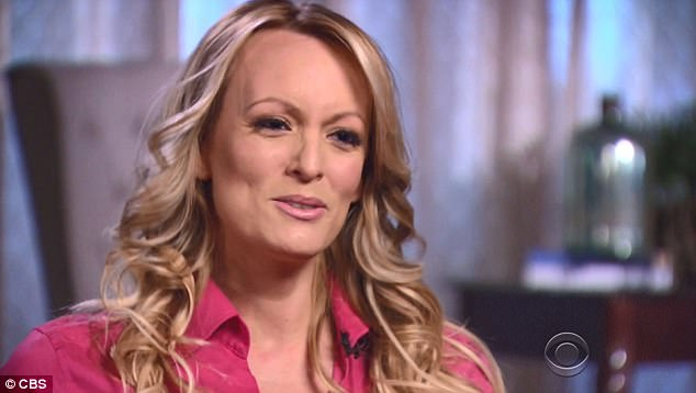 Daniels said she only had sex with the president once in 2006 after they met at a celebrity golf tournament in Lake Tahoe