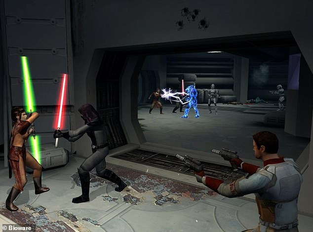 Star Wars game:Knights of the Old Republic takes place 4,000 years before the formation of the Galactic Republic in the Star Wars universe