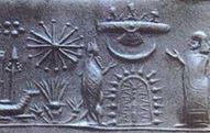 Rocket on cuneiform tablet