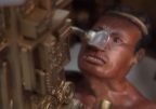 Mayan Astronaut Lord Pikal Close up showing breathing tube 2 AAstros Season 4, Disk 1