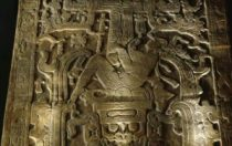 Mayan Astronaut Lord Pikal Close up showing exhaust flames AAstros Season 4, Disk 1