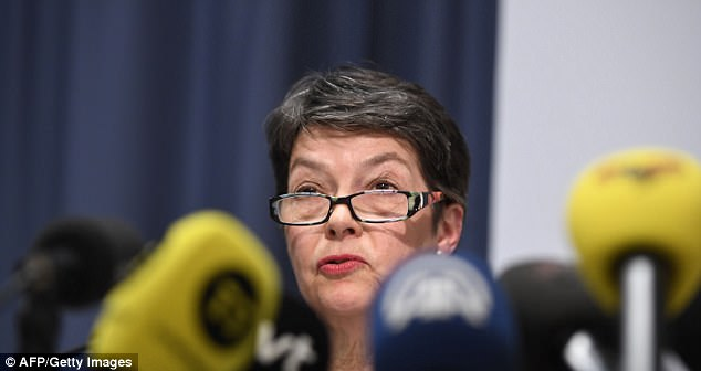 The dramatic decision was revealed by Sweden 's Director of Public Prosecution, Marianne Ny (pictured today), who said the probe had been 'discontinued'
