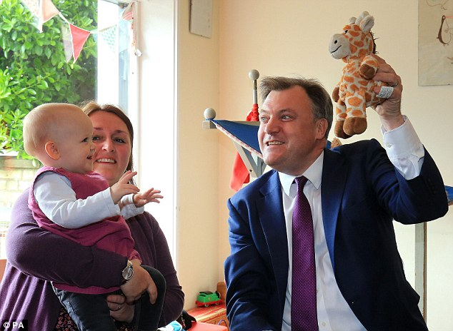 Ed Balls met children and parents at The Book Nook bookshop in Hove, East Sussex where he showcased his repetoire of animal noises