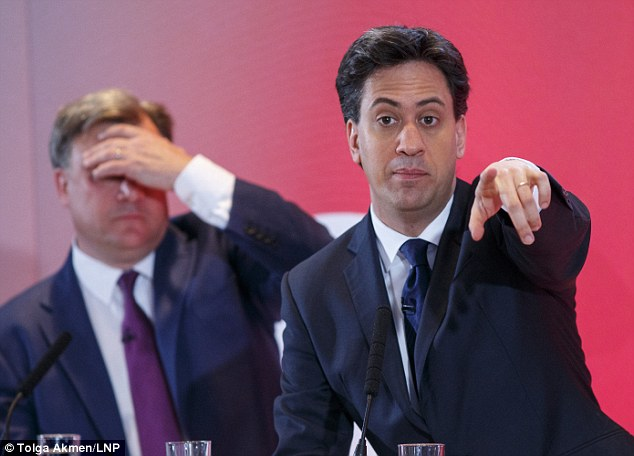 Ed Miliband, in London today with the shadow chancellor Ed Balls, has defended his decision to spend Monday evening with the celebrity comic
