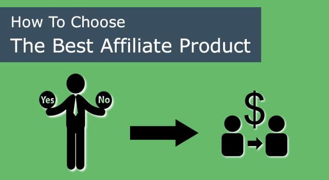 Best affiliate product