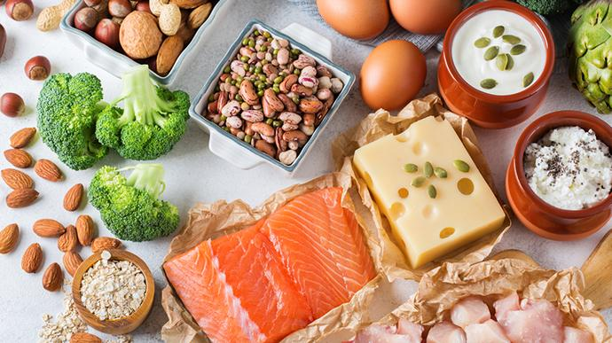 Protein Rich Food Items