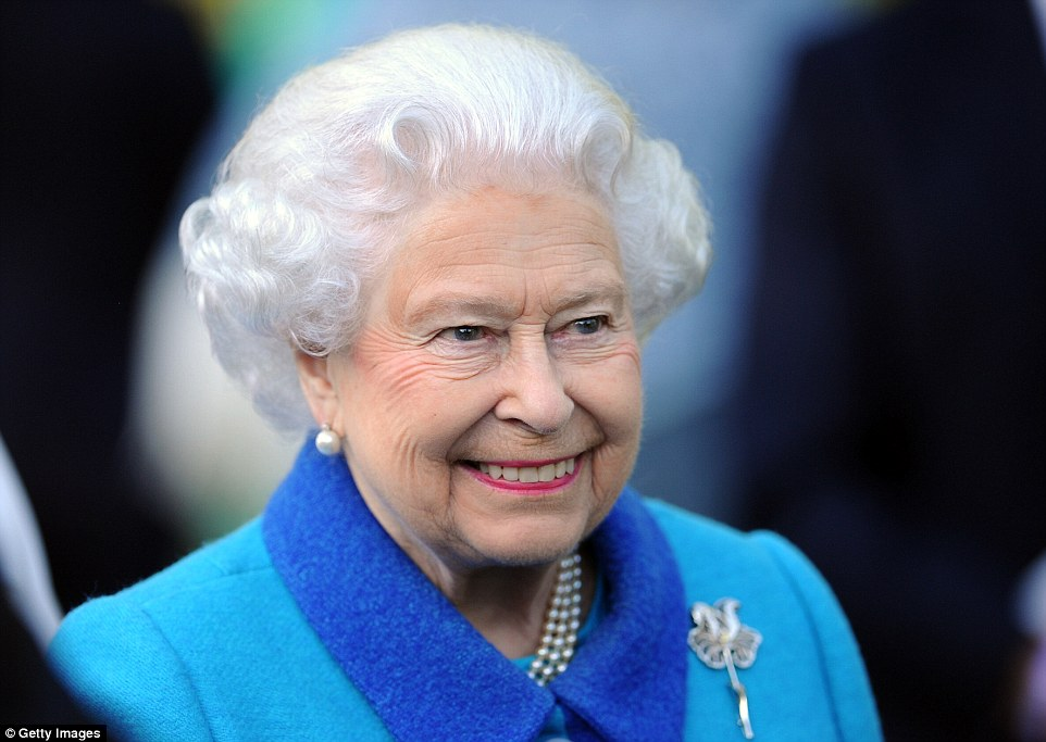 Record: The Queen will surpass the record set by Queen Victoria at around 5.30pm today