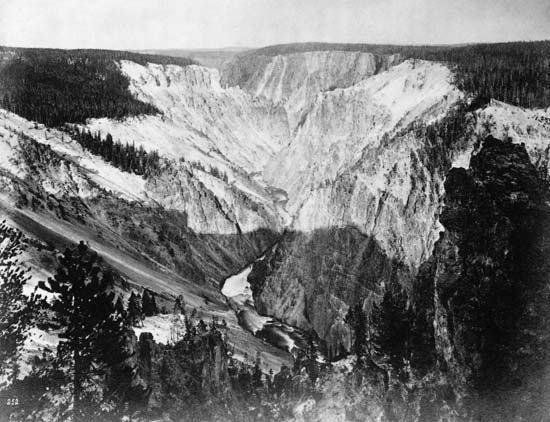 One of Jackson's Photographs from the Expedition