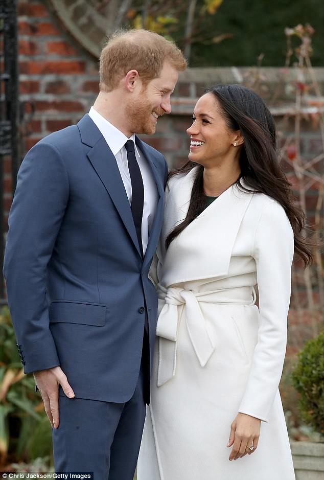 Wedding: The two are due to tie the knot on May 19 at St. George's Chapel in Windsor Castle