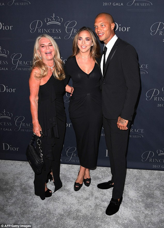 'They are embracing him as one of the Greens': The apparently broody couple have reportedly received the blessing of Chloe's business mogul father Sir Philip Green and mum Tina Green (pictured)