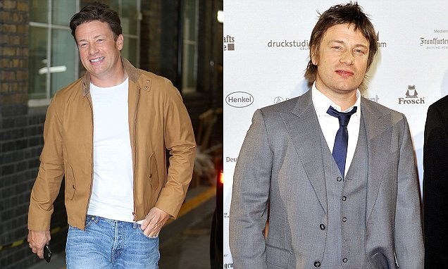 Jamie Oliver reveals how he shed two stone by eating MORE than he used to