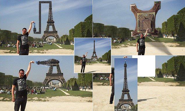 What happens when man asks the Internet to edit his Eiffel Tower photo fail