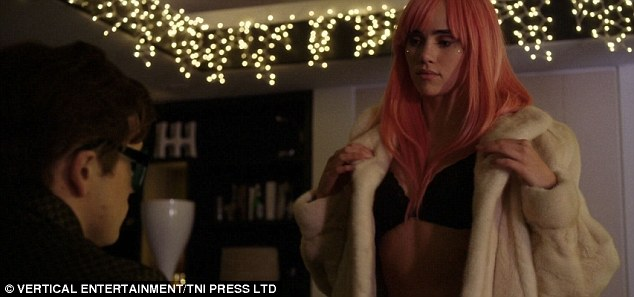 Hot stuff! Suki's outing came after she put on a sizzling display in the latest trailer for her new film Billionaire Boys Club