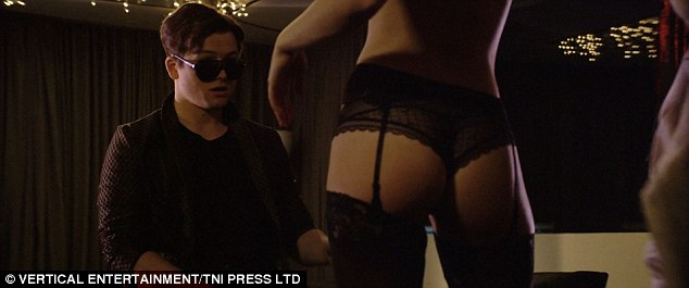 Oh my! Her sassy strip scenes sent shockwaves in her suspenders, as she attempts to seduce her boyfriend in the preview
