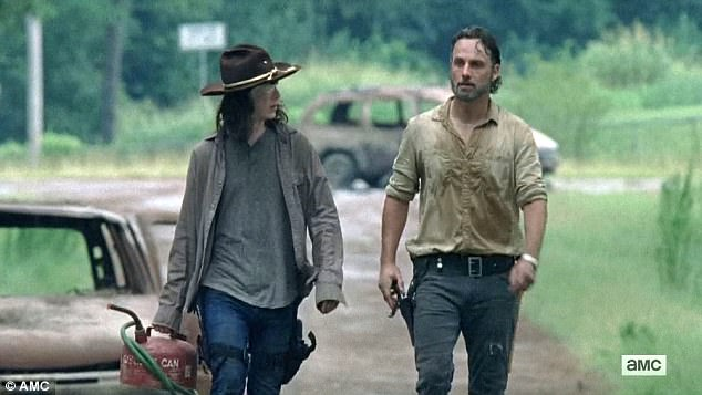 Survival plan: Carl asked Rick why they were going to war with the Saviors