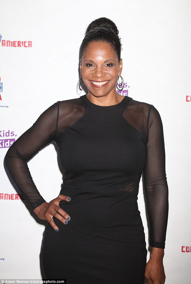 Shining bright:Fellow Broadway starlet Audra also didn't disappoint