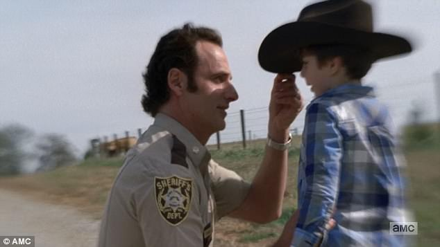 New world: Rick praised his late son Carl for showing him the new world