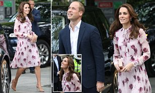 Kate Middleton, William and Harry mark World Mental Health Day in London