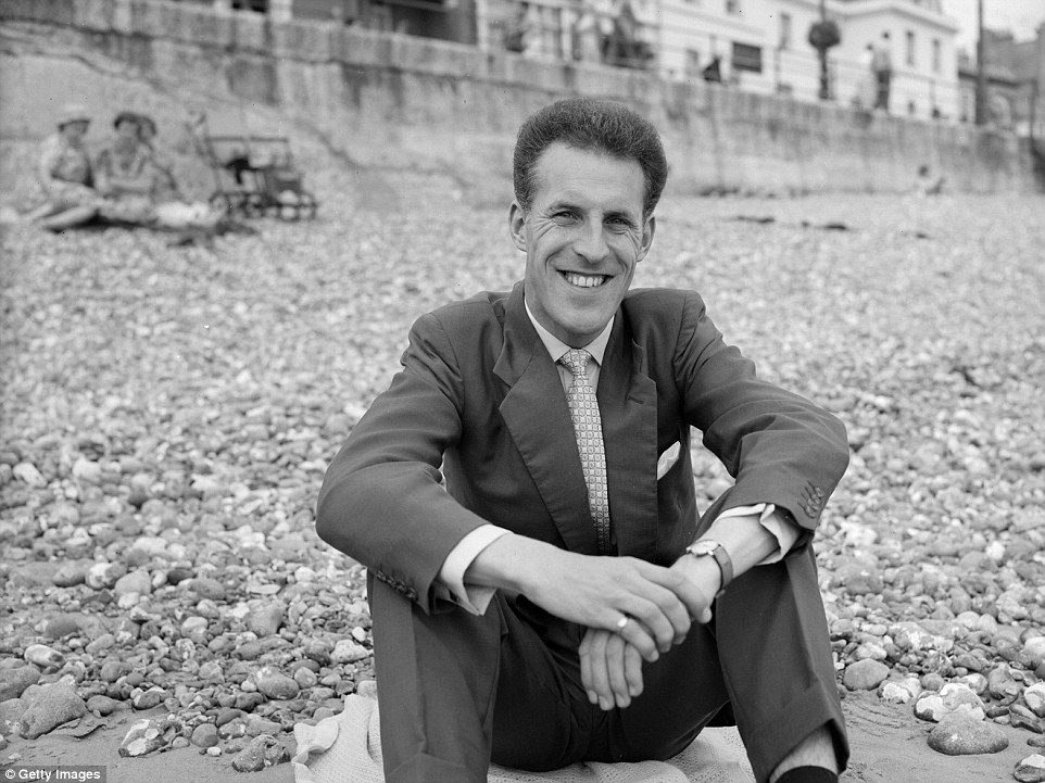 Forsyth pictured in 1958. His career as an entertainer began after the war when he toured the country performing a strong man act in circuses and in theatres