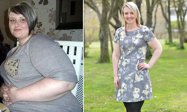 Chain-smoking takeaway addict shed 8 stone after drs warned she would have a stroke