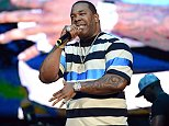 IRVINE, CA - JULY 18:  Rapper Busta Rhymes performs onstage at Irvine Meadows Amphitheatre on July 18, 2015 in Irvine, California.  (Photo by Scott Dudelson/Getty Images)