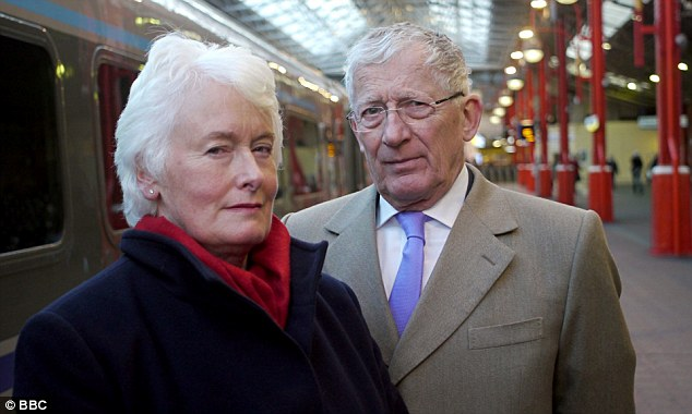 Nick Hewer and Margaret Mountford, both formerly of The Apprentice, set out to discover what happened to Britain's railways in a new documentary The Trouble With Trains