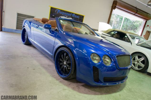 Two companies have been banned from selling kits to make ordinary cars look like Bentleys