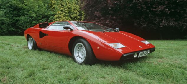 Lamborghini Countach LP400 body design - this model is also not one implicated in counterfeit claims