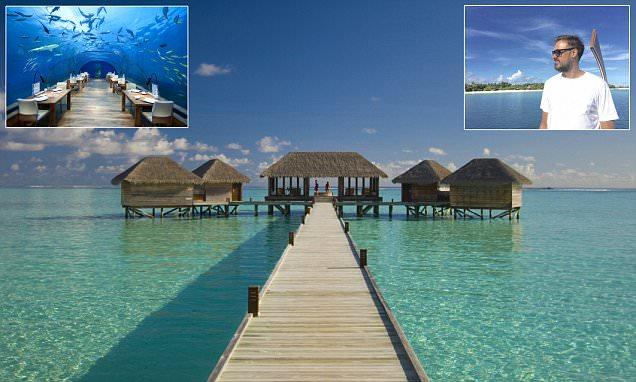 Jamie Theakston takes family to dreamy Conrad Maldives resort