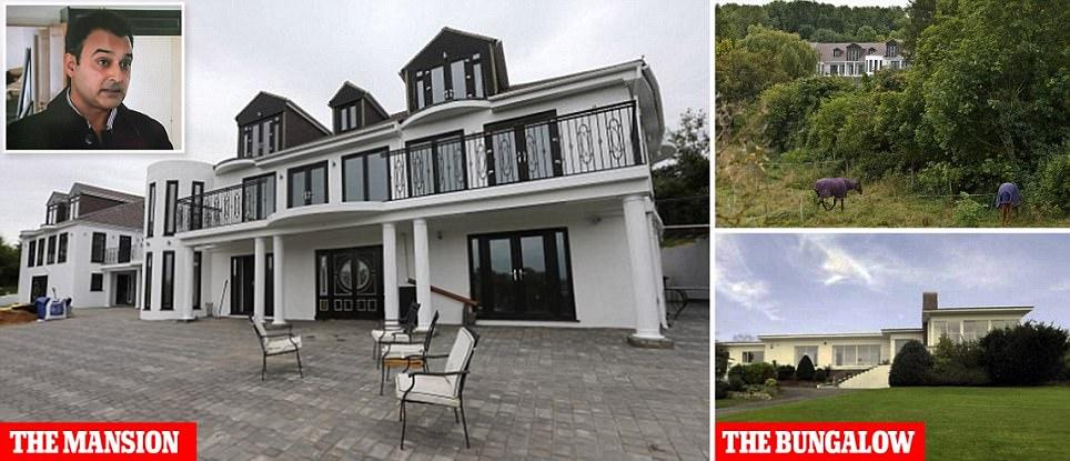 Syed Raza Shah who turned bungalow into £2m mansion told to demolish it