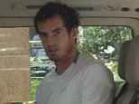 British tennis star Andy Murray is seen in a car before going to a tennis court for a training session ahead of the opening of the 2015 Shanghai Rolex Masters tennis tournament in Shanghai, China, 9 October 2015.  Pictured: Andy Murray Ref: SPL1148467  091015   Picture by: Imaginechina / Splash News  Splash News and Pictures Los Angeles: 310-821-2666 New York: 212-619-2666 London: 870-934-2666 photodesk@splashnews.com