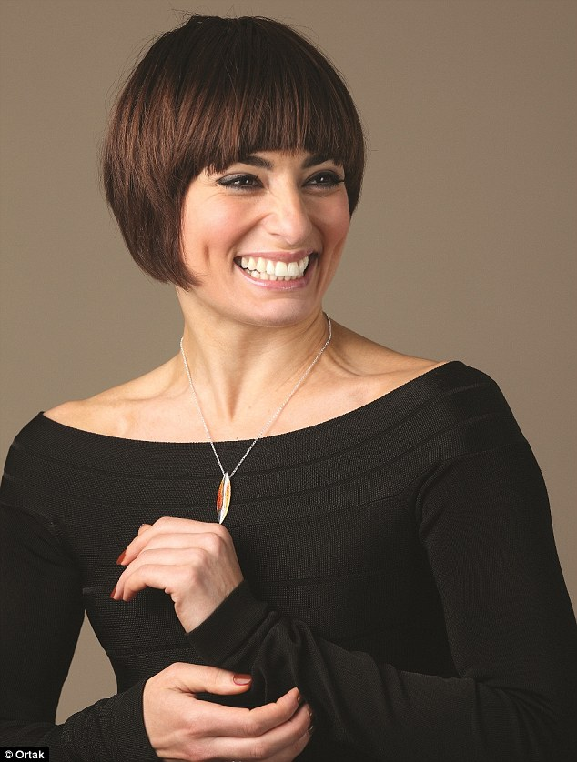 Dancing queen: TV dance sensation Flavia Cacace is the new face of Scottish jewellery brand Ortak