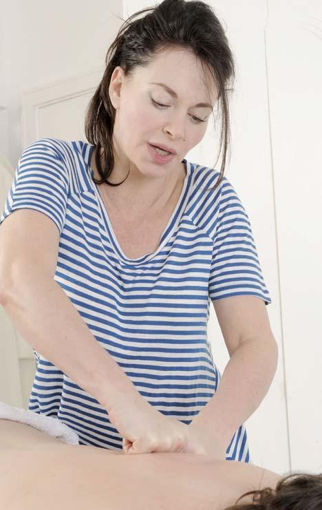 Carole Caplin massage