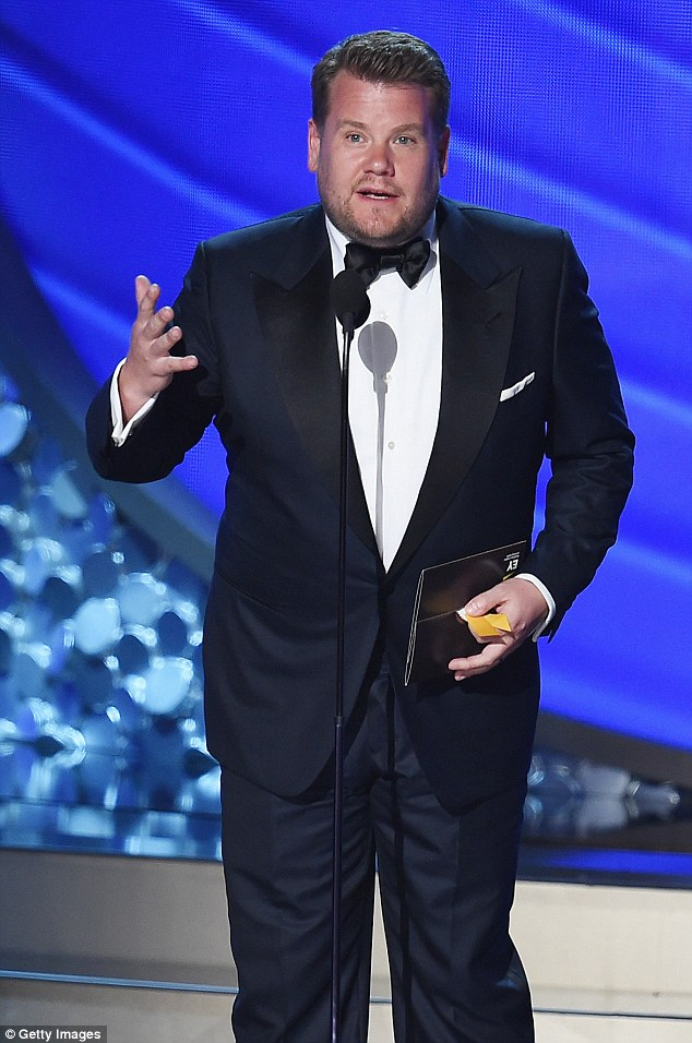 Made it to the big-time:James Cordon relocated to Los Angeles with his wife Julia last year, along with their son Max, four and daughter Carey, one