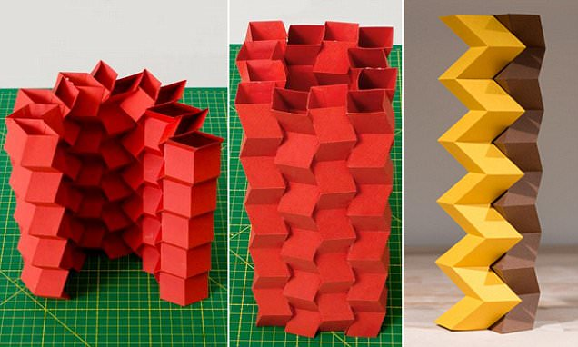 ORIGAMI paper tubes make could help make collapsible buildings and robots