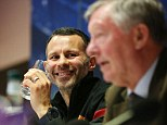 Learnign from the best: Ryan Giggs wants to follow in footsteps of manager Sir Alex Ferguson