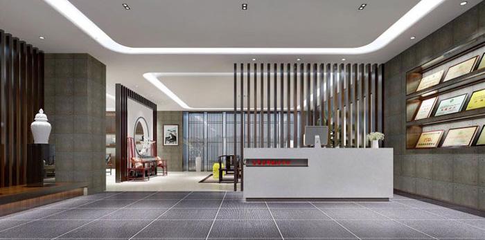 杭州余杭办公室装修设计效果图