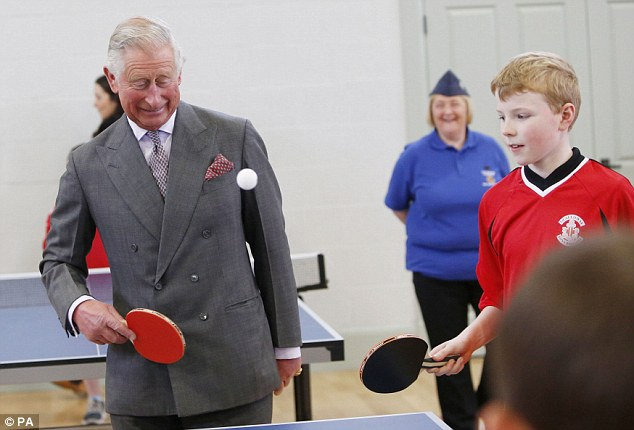 Good shot:Dumfries House was opened to the public for the first time in 250 years in summer 2008 and Charles has since been a regular visitor to the estate