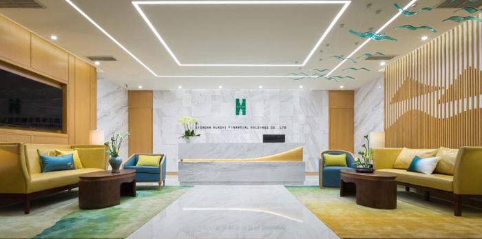 杭州近江办公室装修设计效果图
