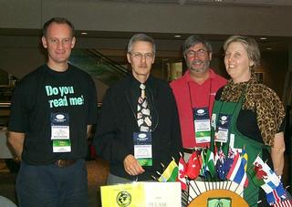 The IASL Table at the Conference