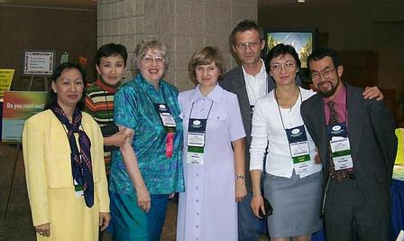 IASL delegates at the conference