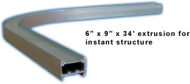 extrusion for instant structure