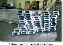 Extrusions for instant structure