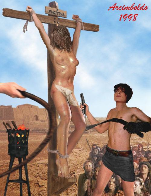 Boy crucifixion