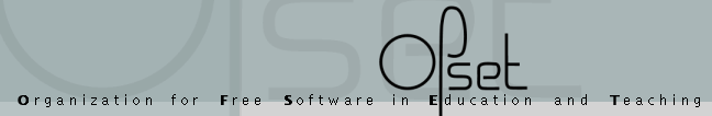 OFSET - Organization for Free Software in Education and Teaching
