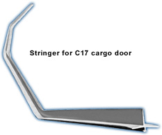 Stringer for c17 cargo door