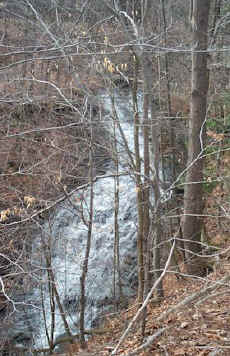 Waterfall in Emery Park