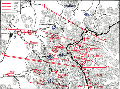 Map 2-1. 1st Red Banner Army Operations, 9-10 August 1945 Click For Full Size Image