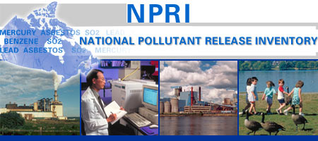 Environment Canada's National Pollutant Release Inventory (NPRI)