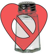 Sodium can elevate blood pressure, which is bad for the heart.